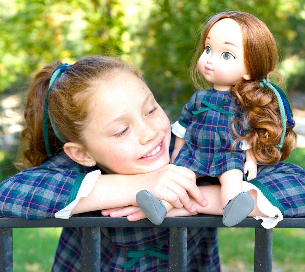 Muñeca para niñas, muñecas gemelas