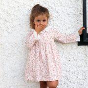 vestido de volantes para niñas