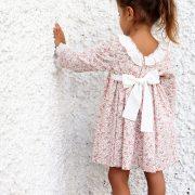 vestido de florecitas para niña