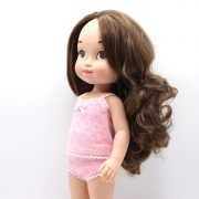 muñecas de pelo largo