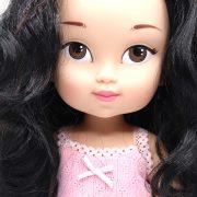 muñecas de pelo negro