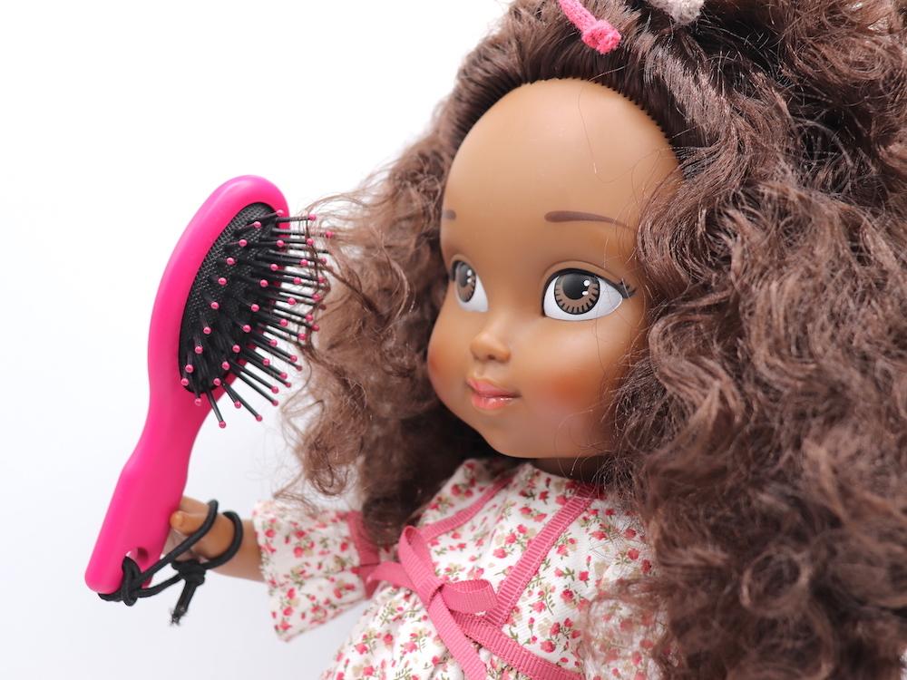 Cepillo para el pelo, niñas y muñecas