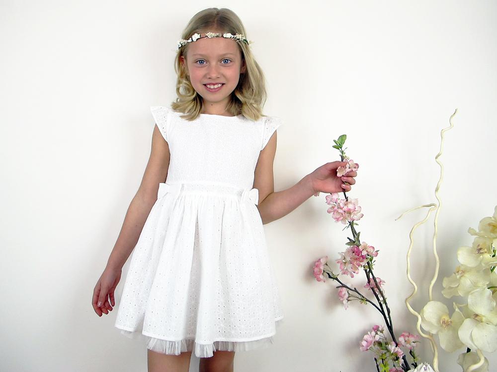 Vestido Blanco Ceremonia Niña