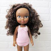muñeca mulata afroamericana